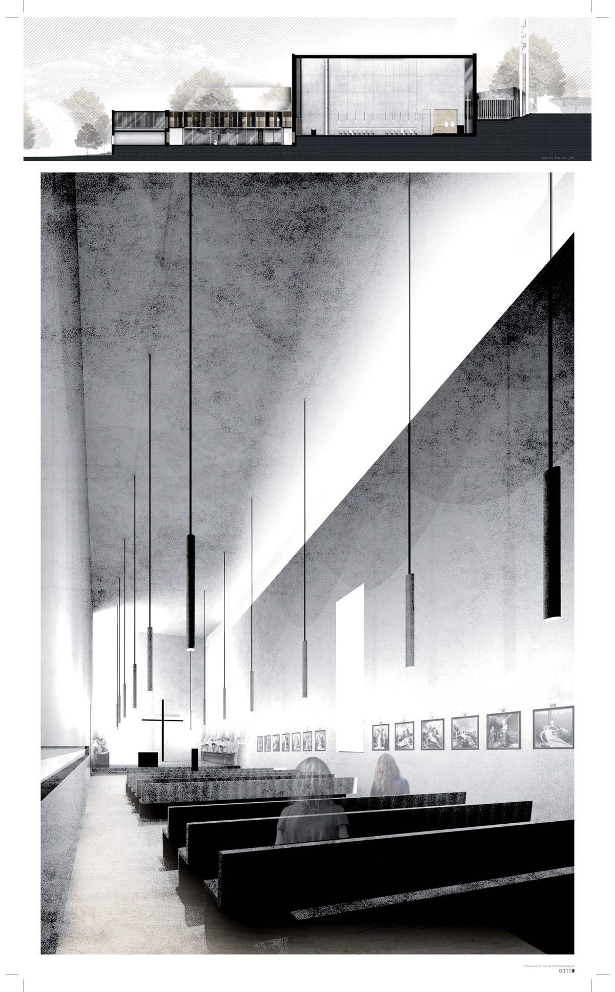 1 preis bereich architektur angelina kuhnert for Innenraum design