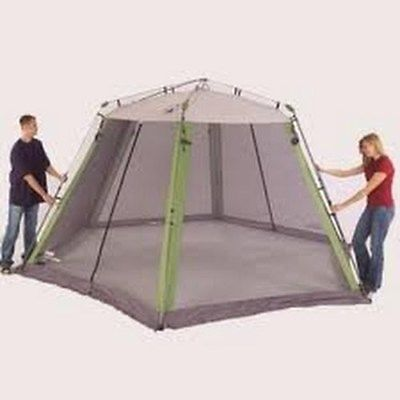 Pop Up Camper Screen Room 10x10 Camping House Tent Instant
