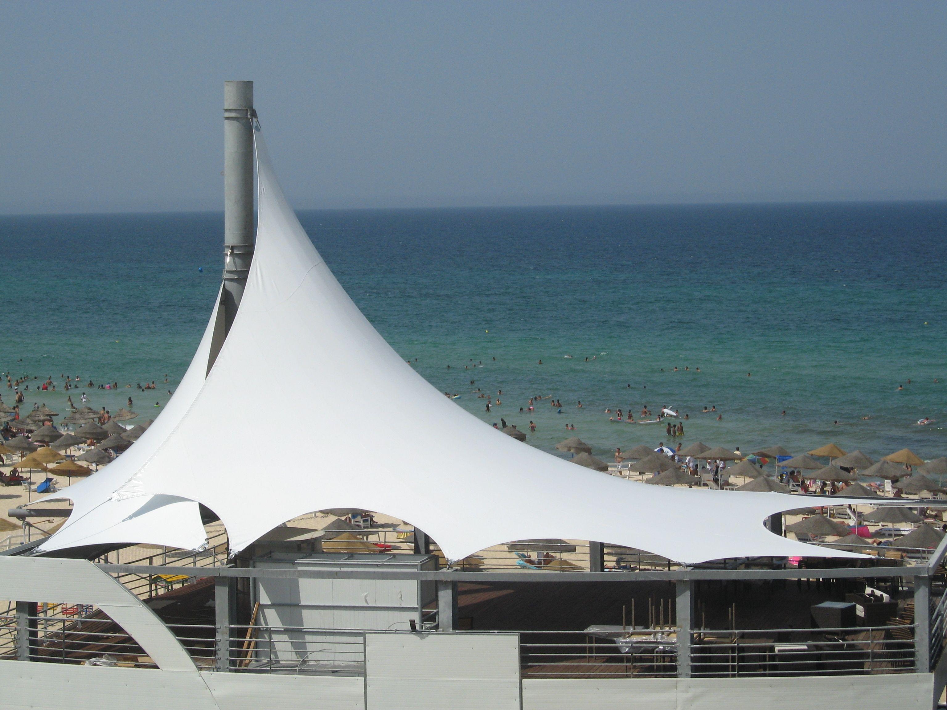 Restaurant covered terrace