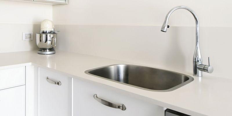Lapitec Kitchen Countertop In Color Bianco Crema Satin Finish