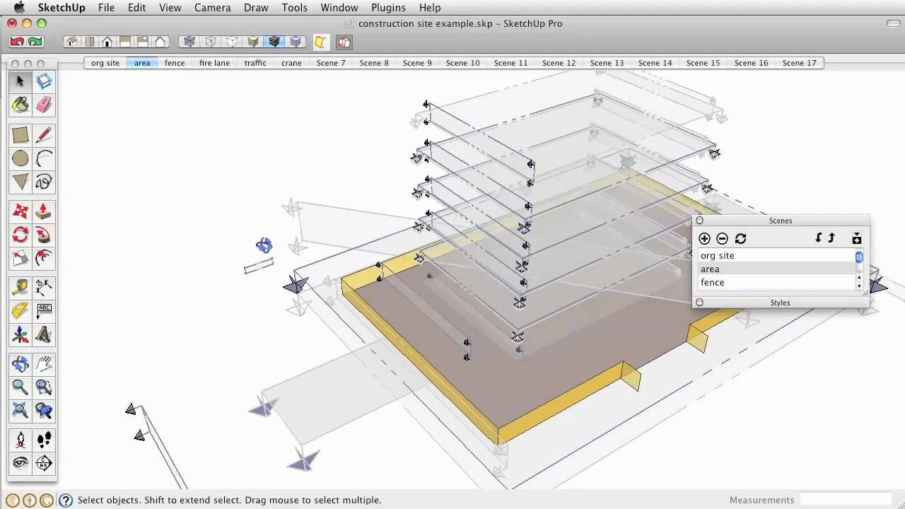 Construction Sequence Animation In Sketchup Tutorial Software Design Tutorial Sketch Up Architecture