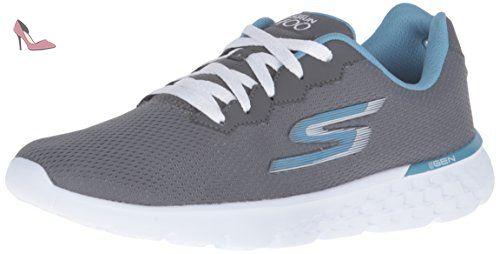 Go Run Vortex - Chaussures de Running Entrainement Homme - Bleu (Marine/Orange) - 41 EUSkechers Eu8k7Bg2