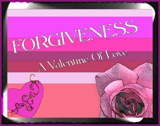 Valentine forgiveness poster