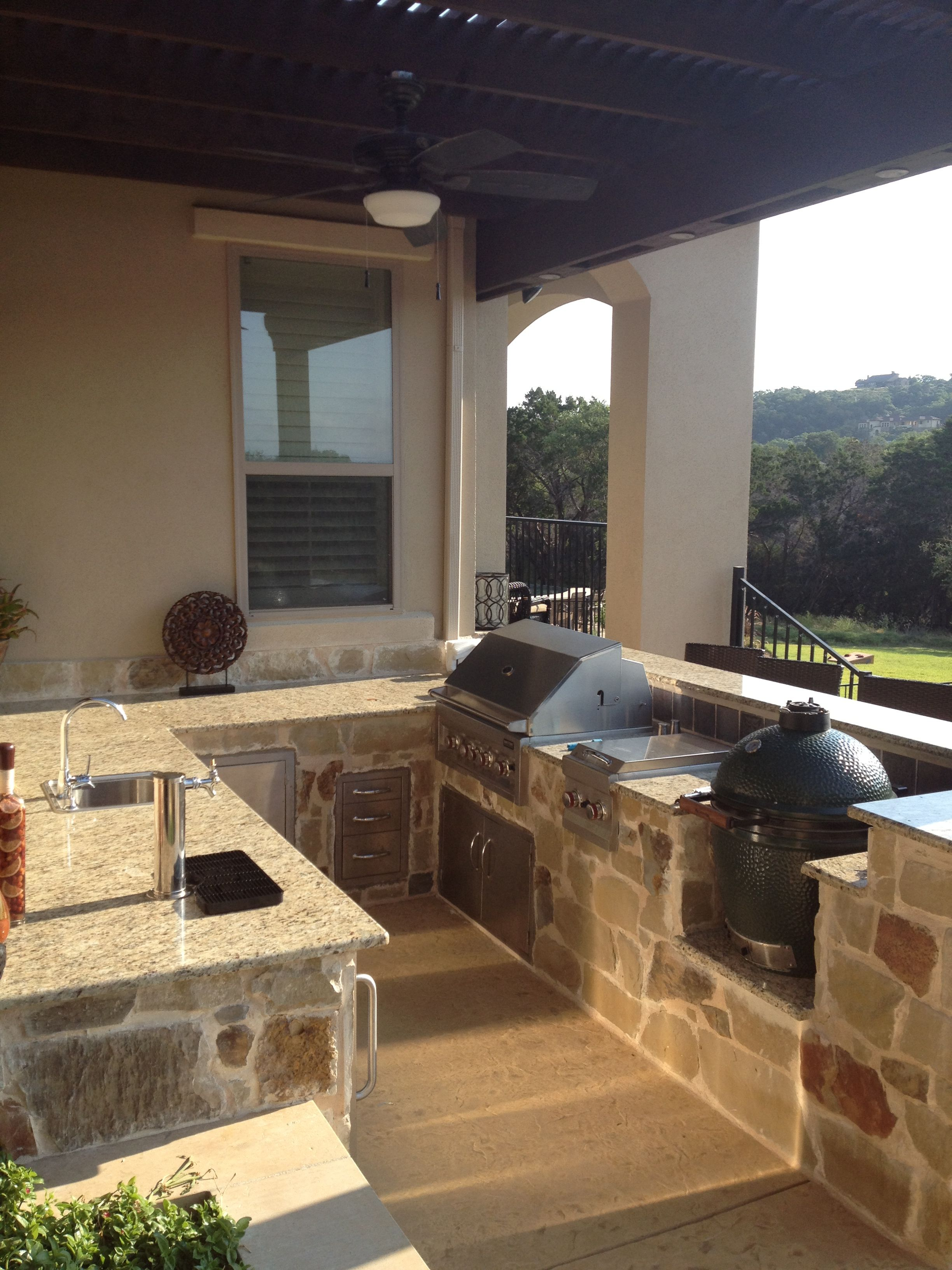 place for the smoker in an outdoor kitchen outdoor living on outdoor kitchen with smoker id=74105