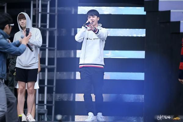 141019 Winner @ YG Family Concert in Beijing Rehearsal