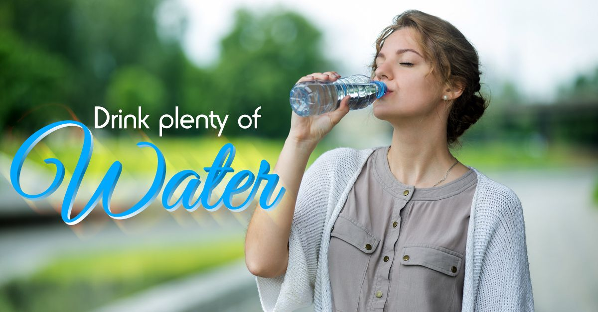Water continues to be the best beverage for your overall
