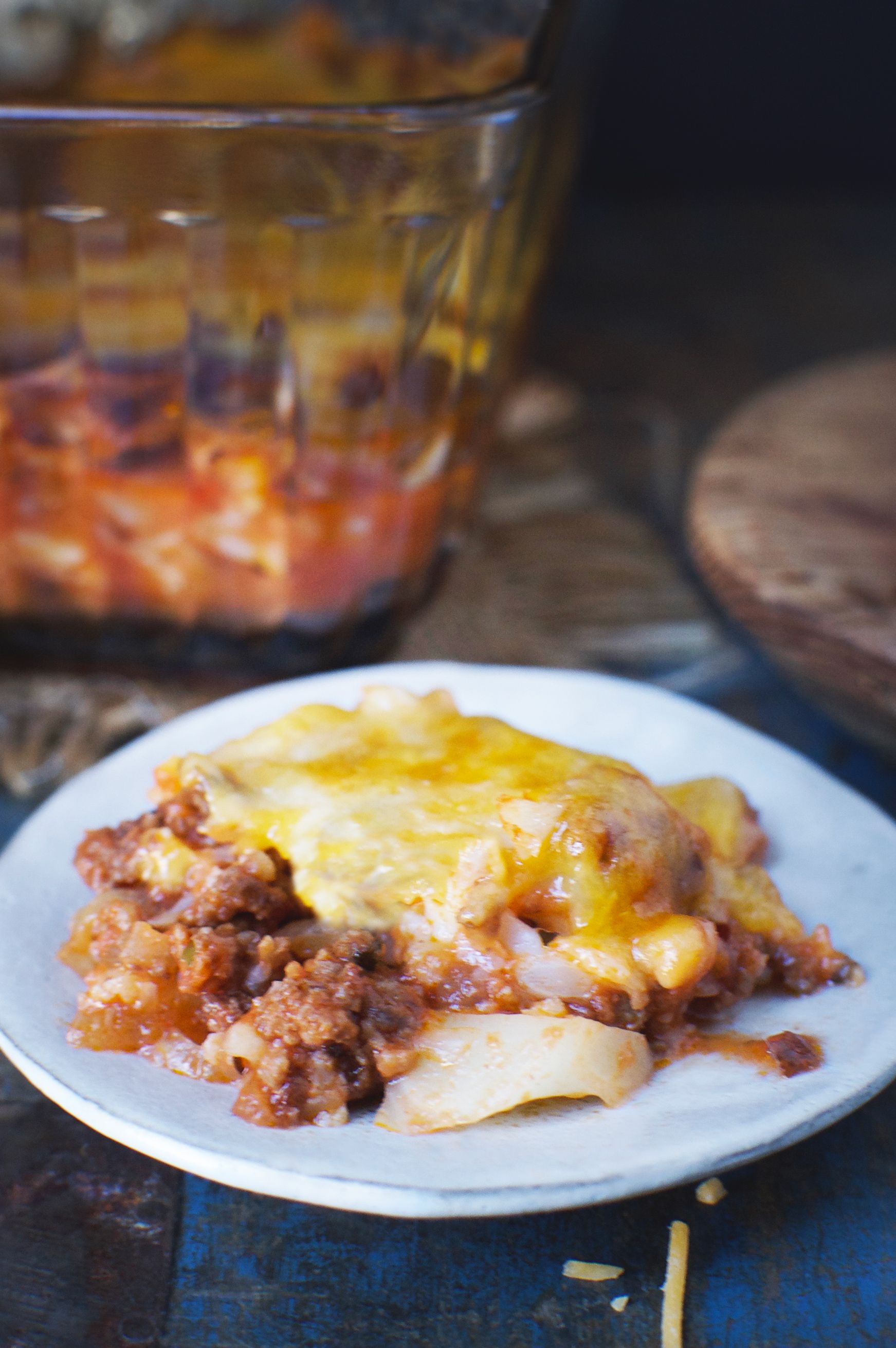 Keto,Friendly Italian Ground Beef Casserole