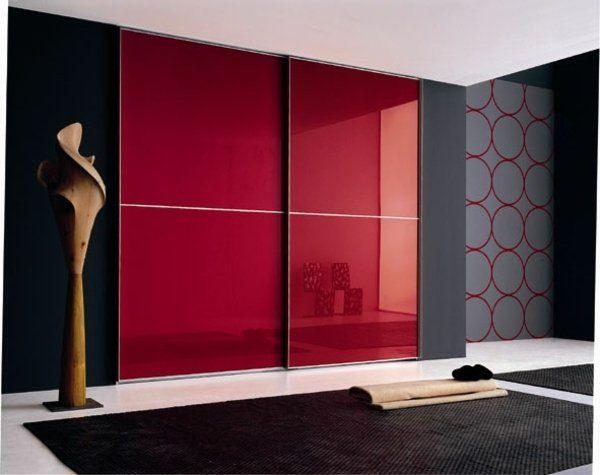 Lu0027armoire dressing dans la chambre à coucher moderne Wardrobes - papier peint pour chambre a coucher