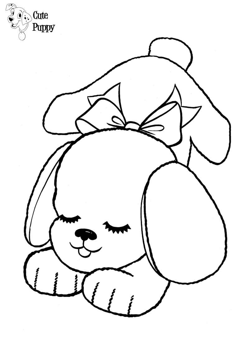 Reliable Coloring Of Dogs Awesome Love Cute Puppy Colouring - Baby ... | 1120x800