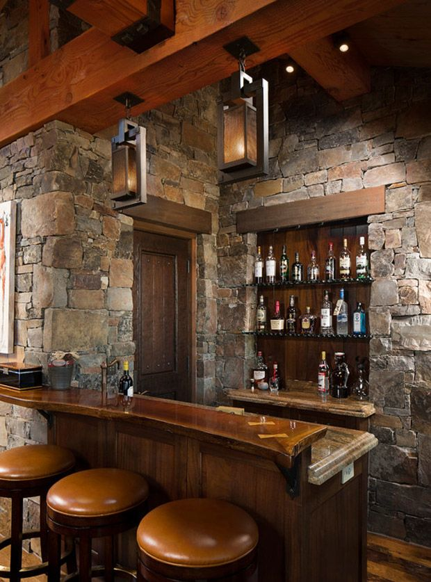 Home Bar   A Meeting Place And Entertainment | Design U0026 DIY Magazine