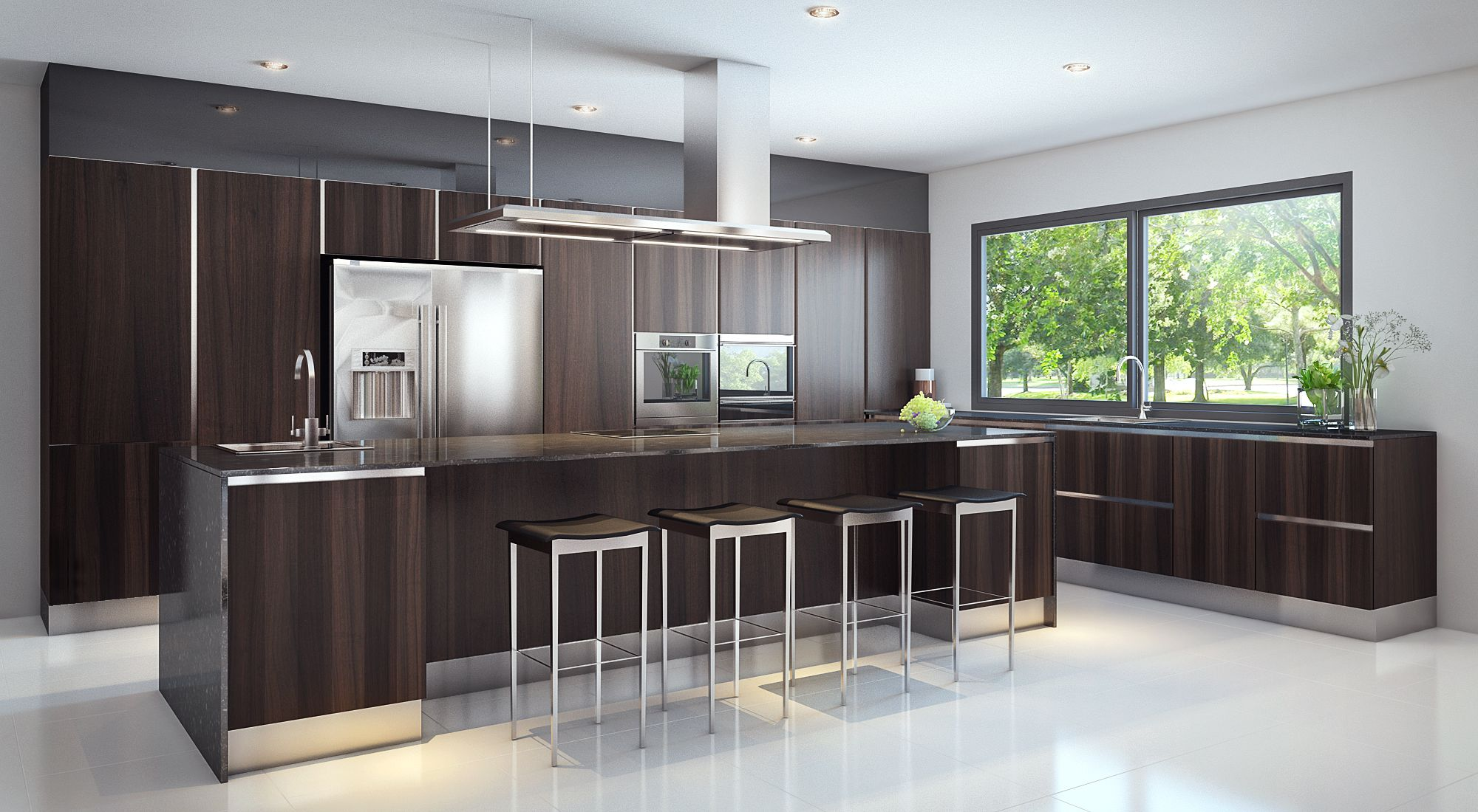 Simple dry kitchen design - Mobiletto Mito Dry Kitchen For A Landed Property