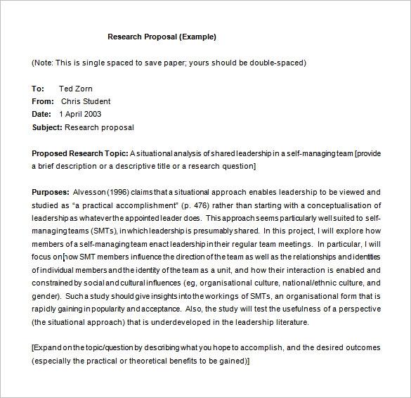 10 Research Proposal Templates Free Printable Word Pdf Research Proposal Research Proposal Example Proposal Writing