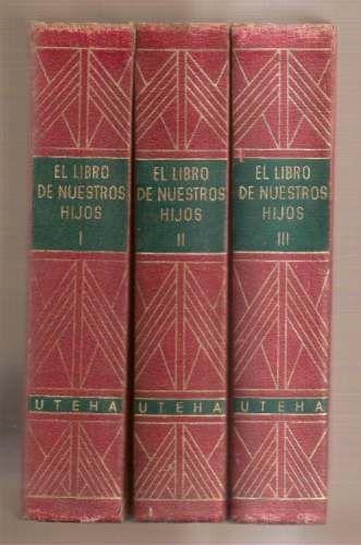 El Libro De Nuestros Hijos Vintage Box Book Cover Literature
