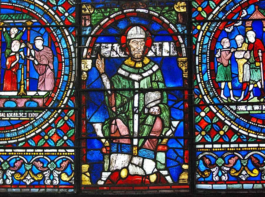 Archbishop Thomas Becket (c1118 - 1162 - 1170 (52)) was murdered (attacked, beheaded and brained) on 29 December 1170 in his own cathedral in Canterbury, by four knights responding to the urgings of Plantagenet King Henry II (1133-1154-1189 (56)).  Even today this event is probably one of the best known in English history.