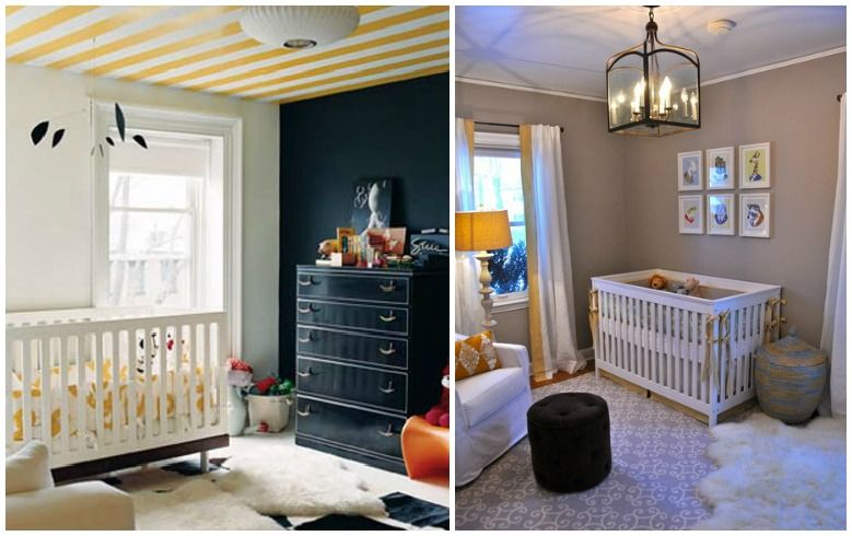 Sheepskin in the nursery! Tons of inspiration to add a touch of warmth and texture to your nursery.