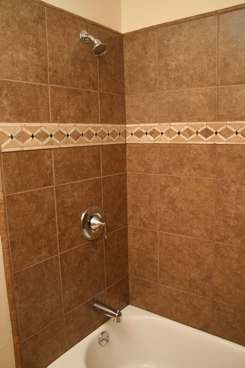12x12 Tiling Above Tub Pictures For Will 39 S Bathroom