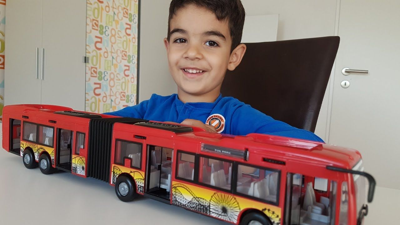 City Express Bus From Dickie Toys Unboxing With Dlan Express Bus Toys Bus