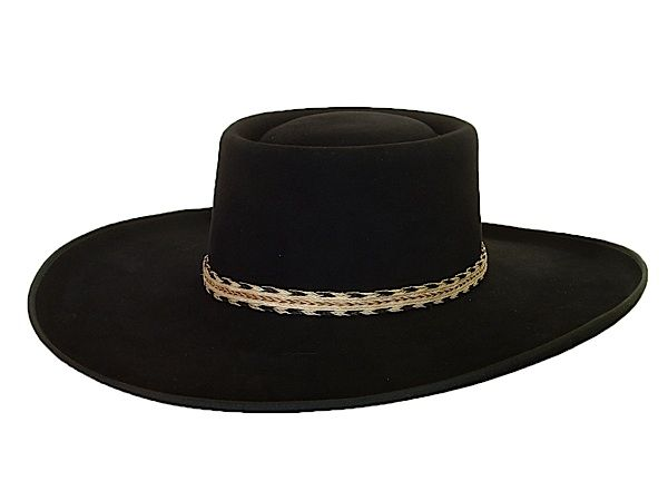 AzTex Hats Elko Modified Gambler Western Hat ... only...  430 ... 1cf8a9d0a70