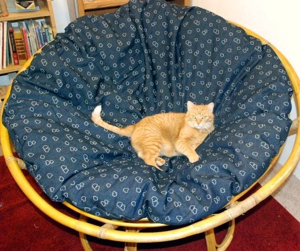 Charming How To Make A Slipcover For Your Papasan Chair Cushion    Via WikiHow.com