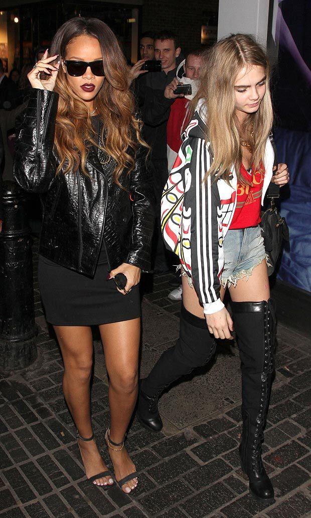1b77b5b613b8b Rihanna and Cara Delevingne my two favorite celebs