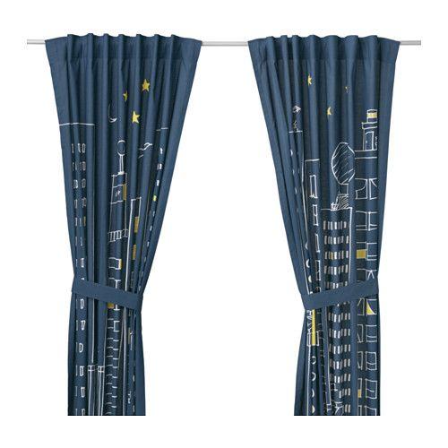 HEMMAHOS Gordijnen met embrasse, 1 paar - IKEA - Yamal   Pinterest ...