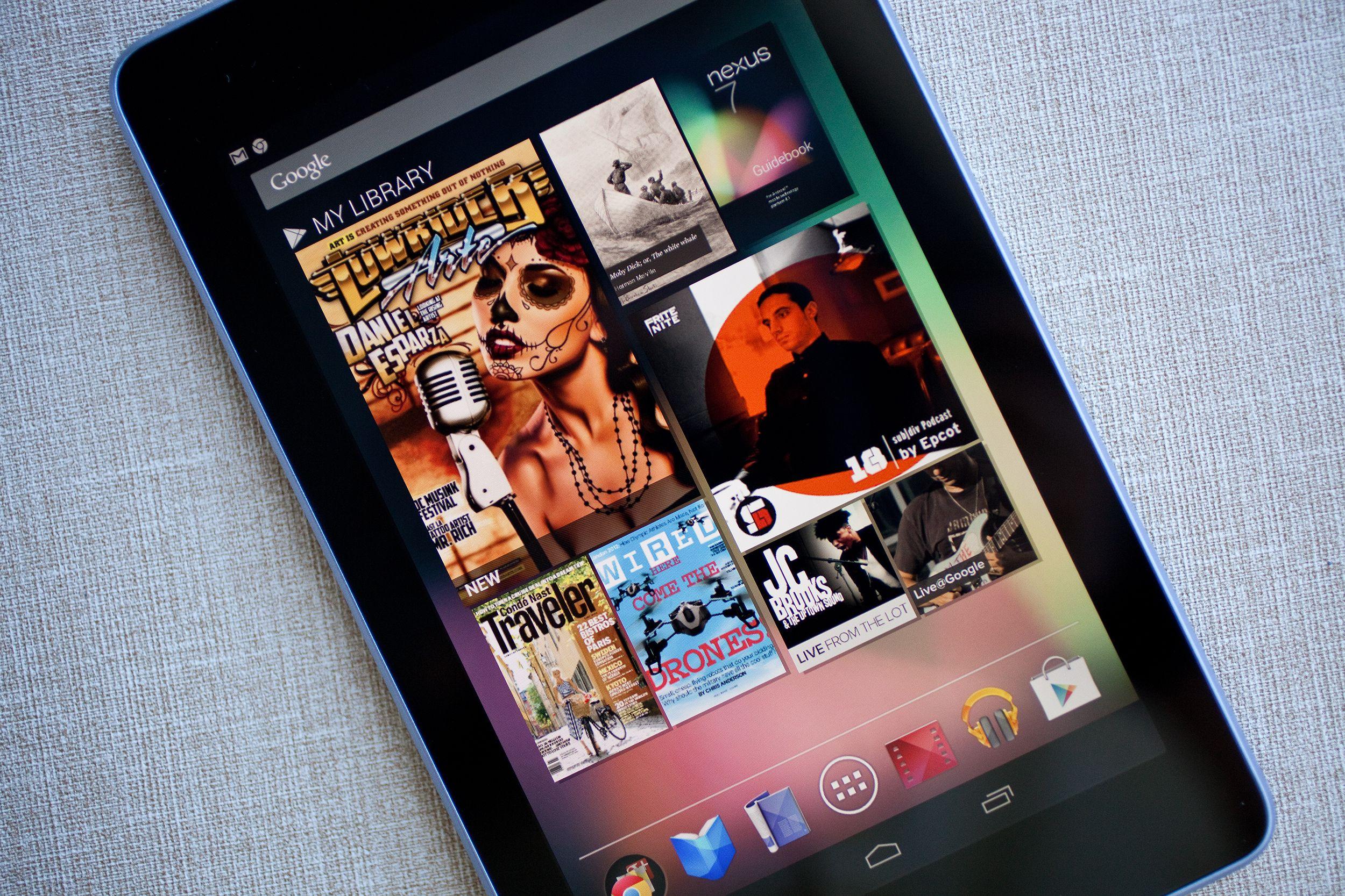 Review Google Nexus 7 Nexus 7 Nexus Tablet Google Nexus