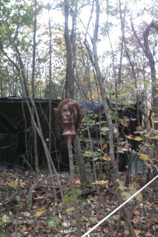 Clinton Highway Haunted Forest in Knoxville Tennessee It\u0027s the best - haunted forest ideas for halloween