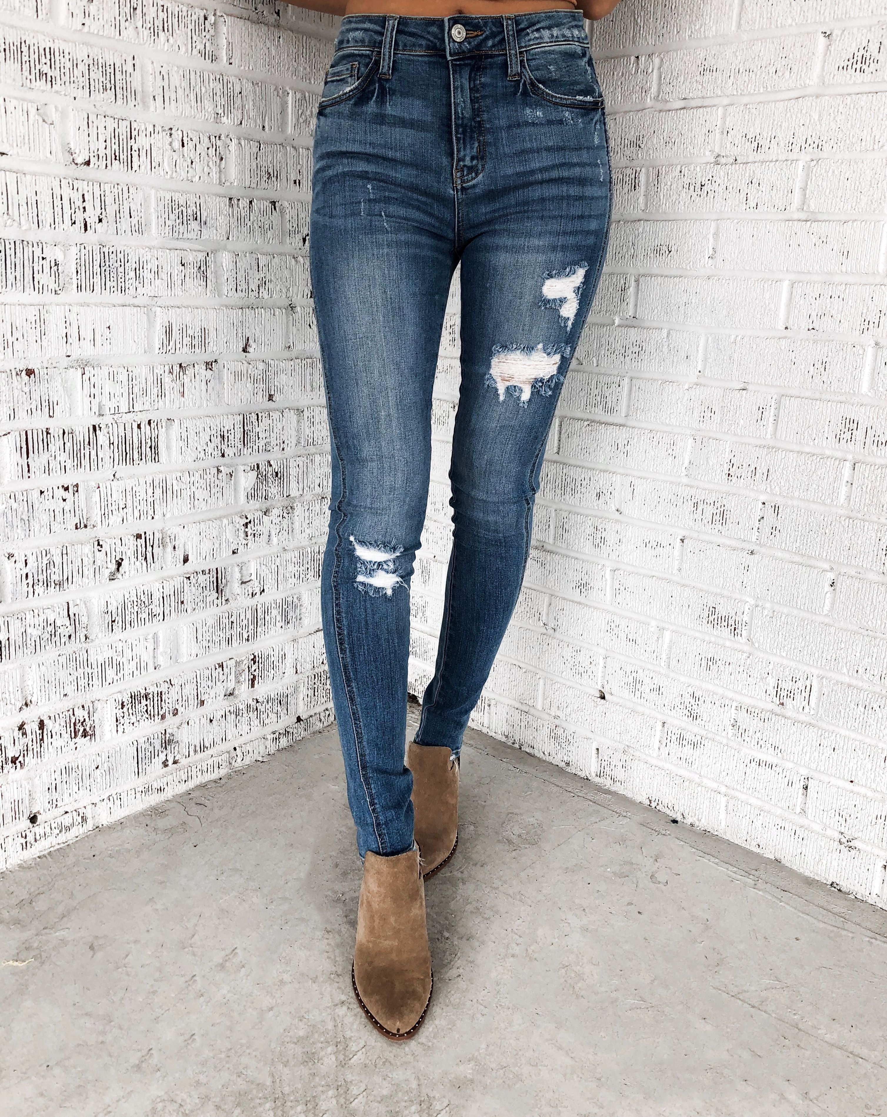 a14b1f416aa938 VERVET High Rise Skinny Jeans in 2019 | BOTTOMS | Skinny Jeans ...