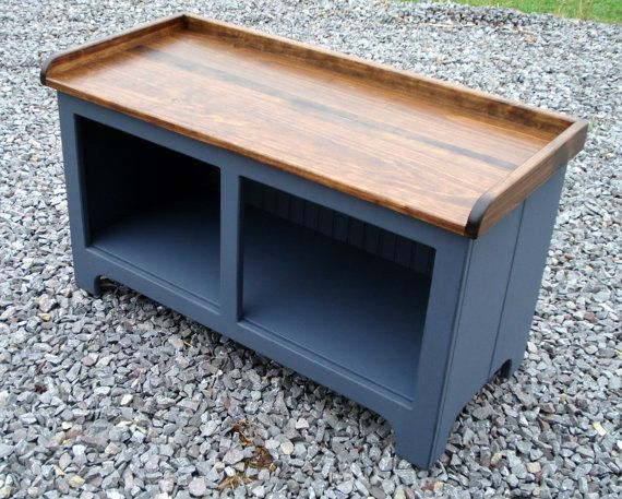 Storage bench, storage solutions, storage ideas, mudroom | Muebles ...