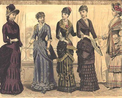 Victorian fashion women england 52