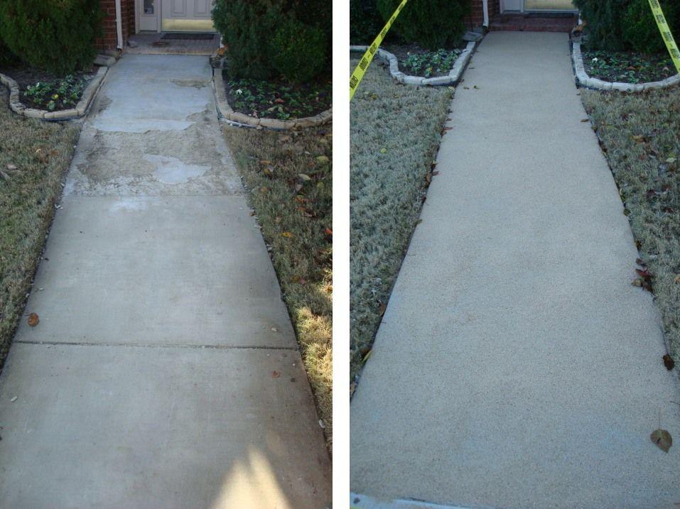 Concrete Resurfacing Of Spalling Concrete Concrete