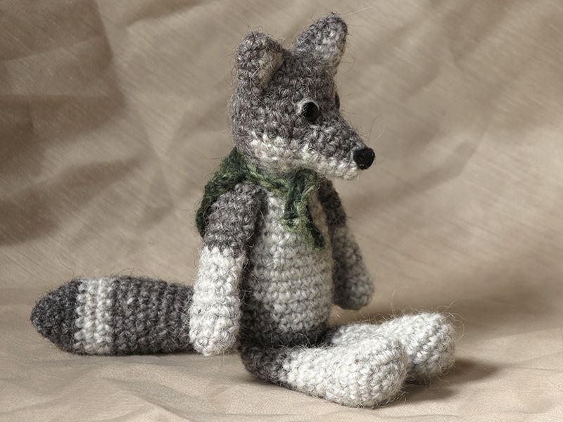 crochet wolf pattern   Son\'s Popkes   Crochet   Pinterest