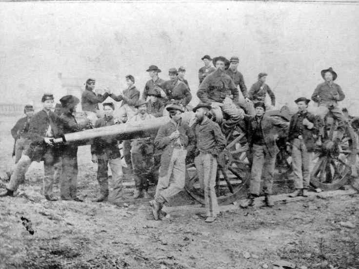 1st minnesota heavy artillery ca 1865 civil war