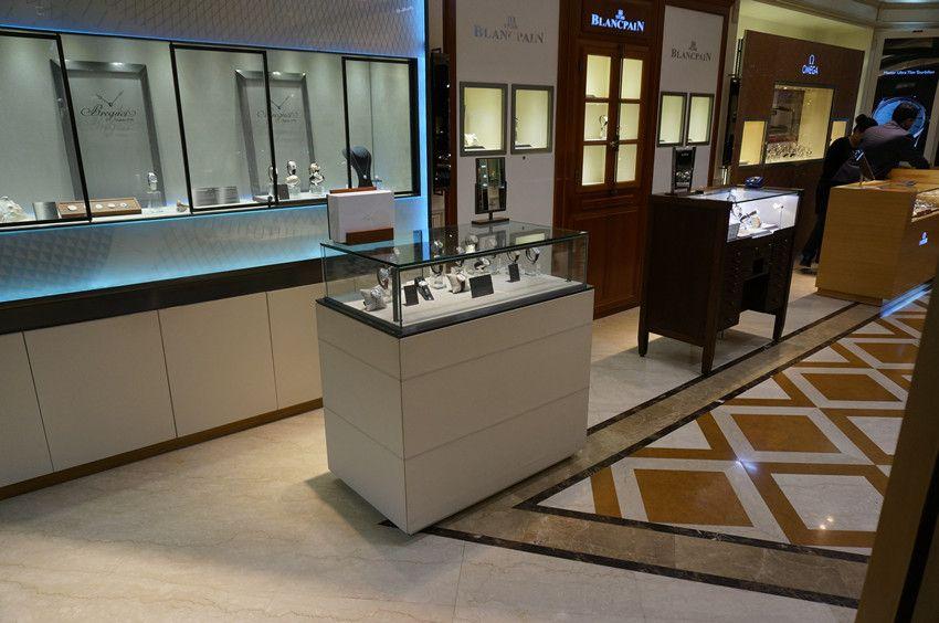 Display Showcase Cabinet Jewelry Watch Shelf