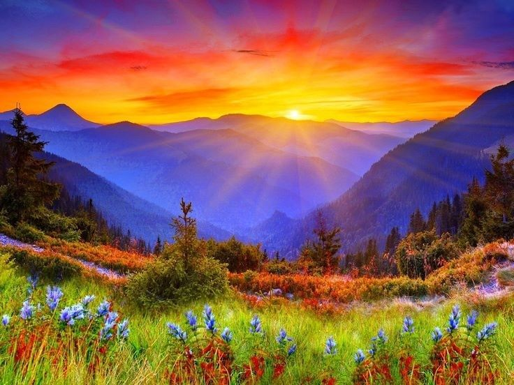 When The Rains Had Stopped And The Sun Rose Every Morning With Dazzling Beauty And It Was Not Too Ho Nature Photography Beautiful Nature Beautiful Landscapes