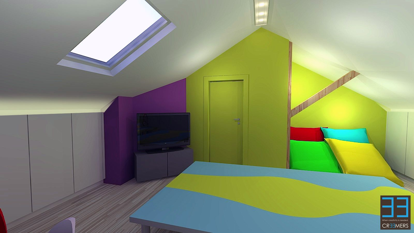 Renovation and interior concept for client ss. modern living area ...