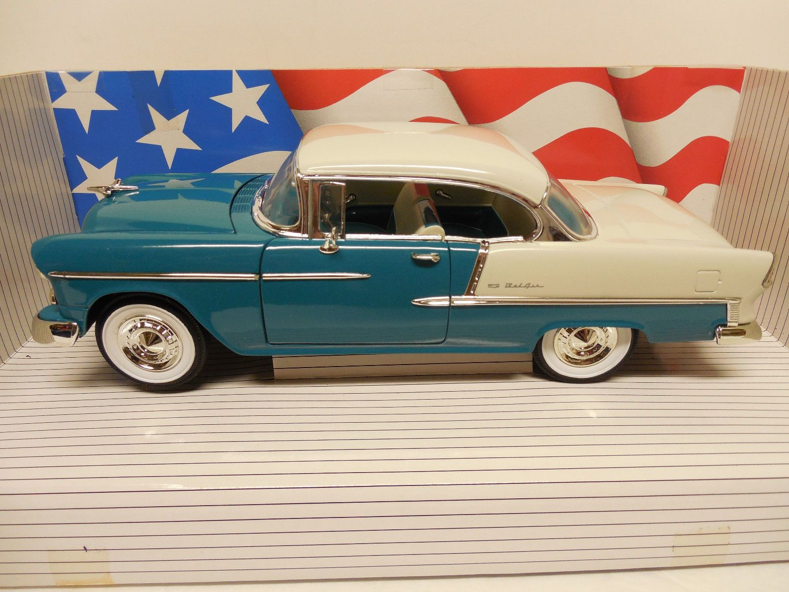 1955 chevrolet bel air cannaday s hobby 1 of 1500 1 18 diecast ebay