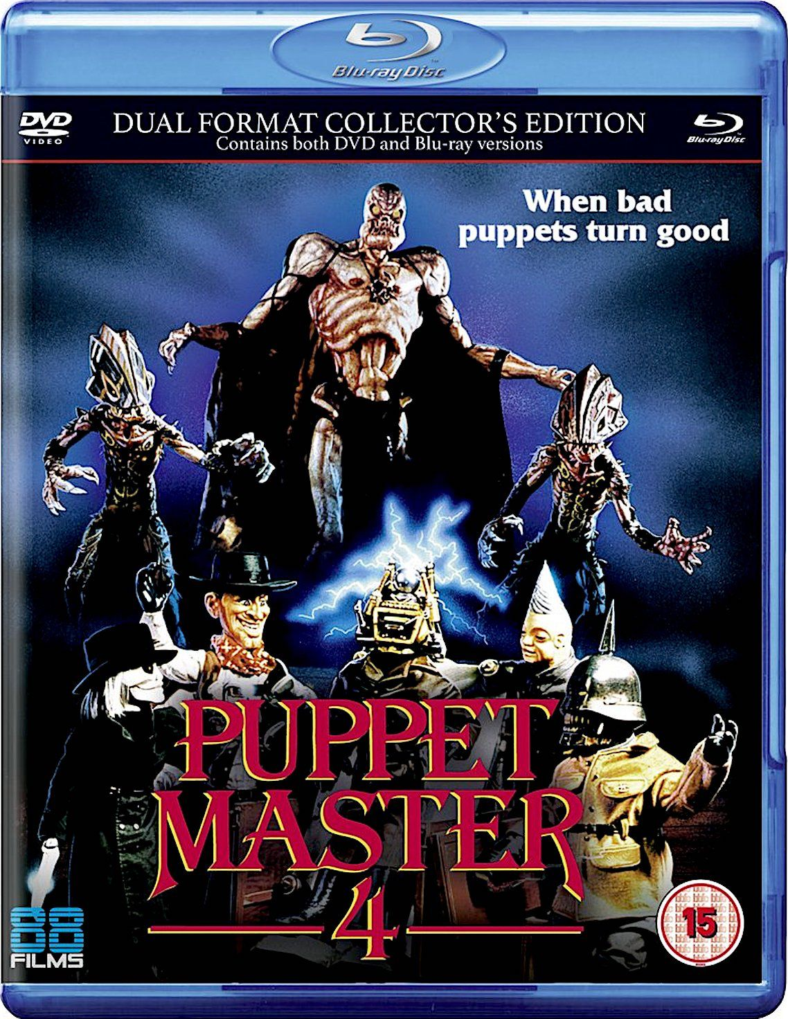 PUPPET MASTER 4 BLURAY (With images) Blu ray, I movie