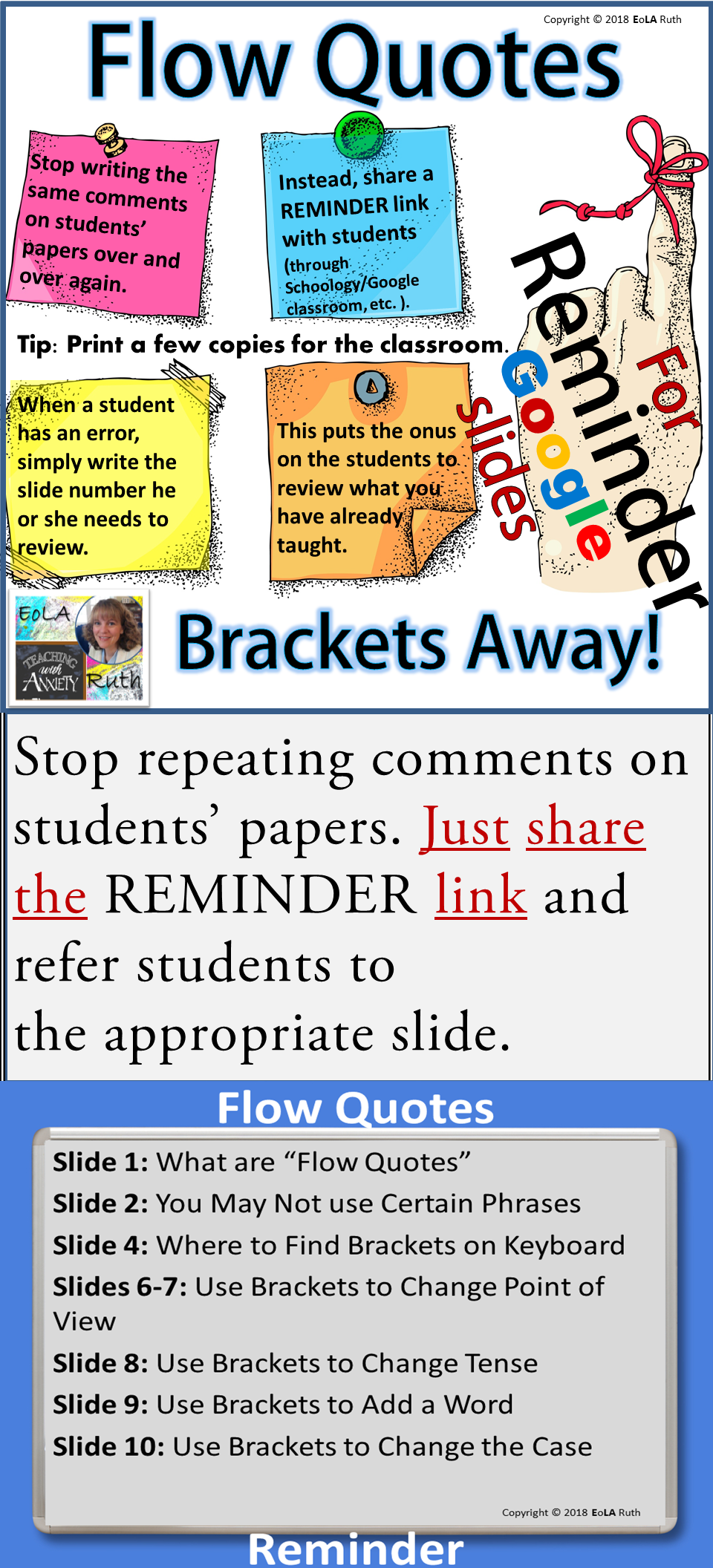 How To Write A Flow Quote Reminder For Google Slides Middle