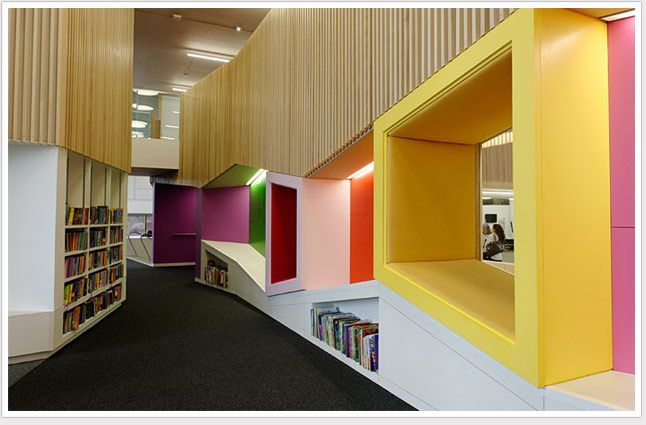 A Global View Of Library Trends Demco Library Interiors The Hive Worchester England