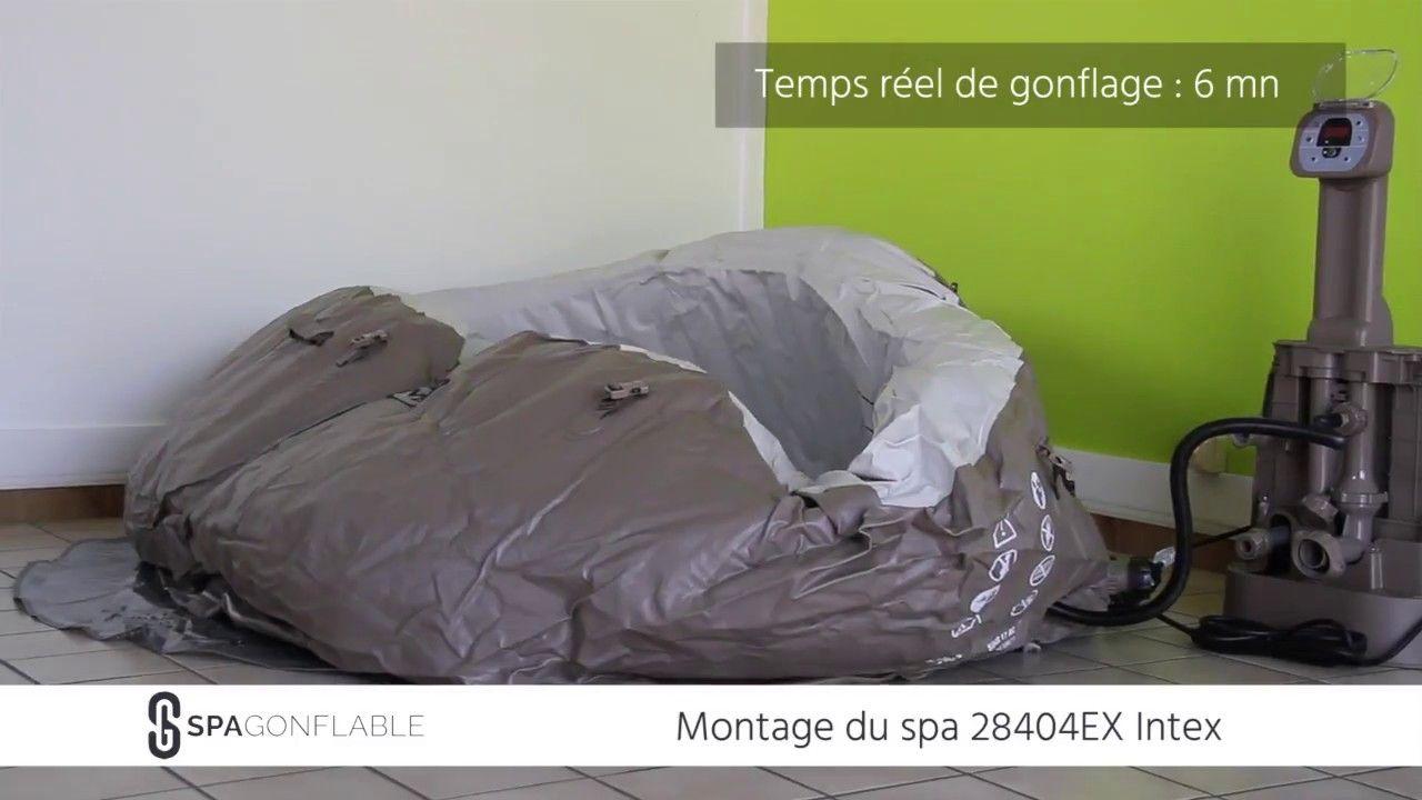 Tuto Montage Gonflage Et Remplissage D Un Spa Intex