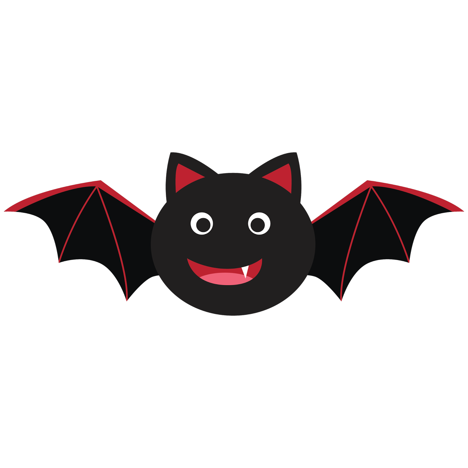 bat clipart for my 15month old alfie i love bats halloween rh pinterest com Halloween Black Bat Clip Art Happy Halloween Clip Art