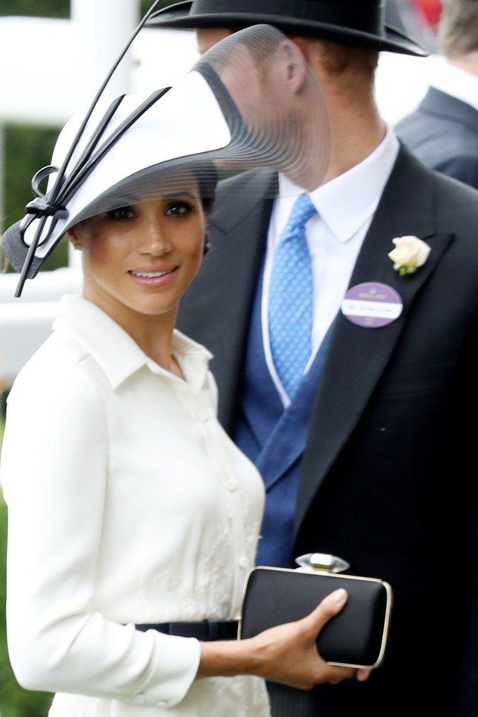Prince Harry and Meghan Markle at Royal Ascot 2018 | POPSUGAR Celebrity Photo 1