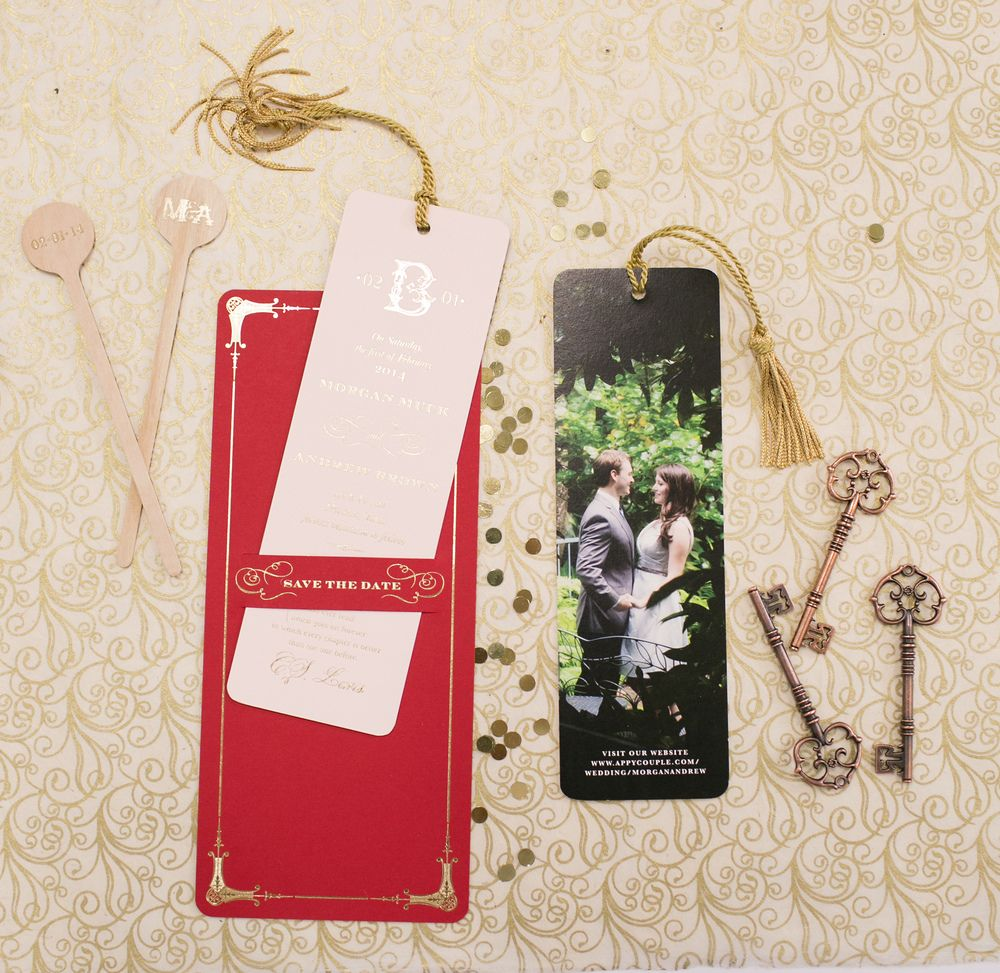 wedding stationery | designed by amy boyter of papellerie | photo by ...