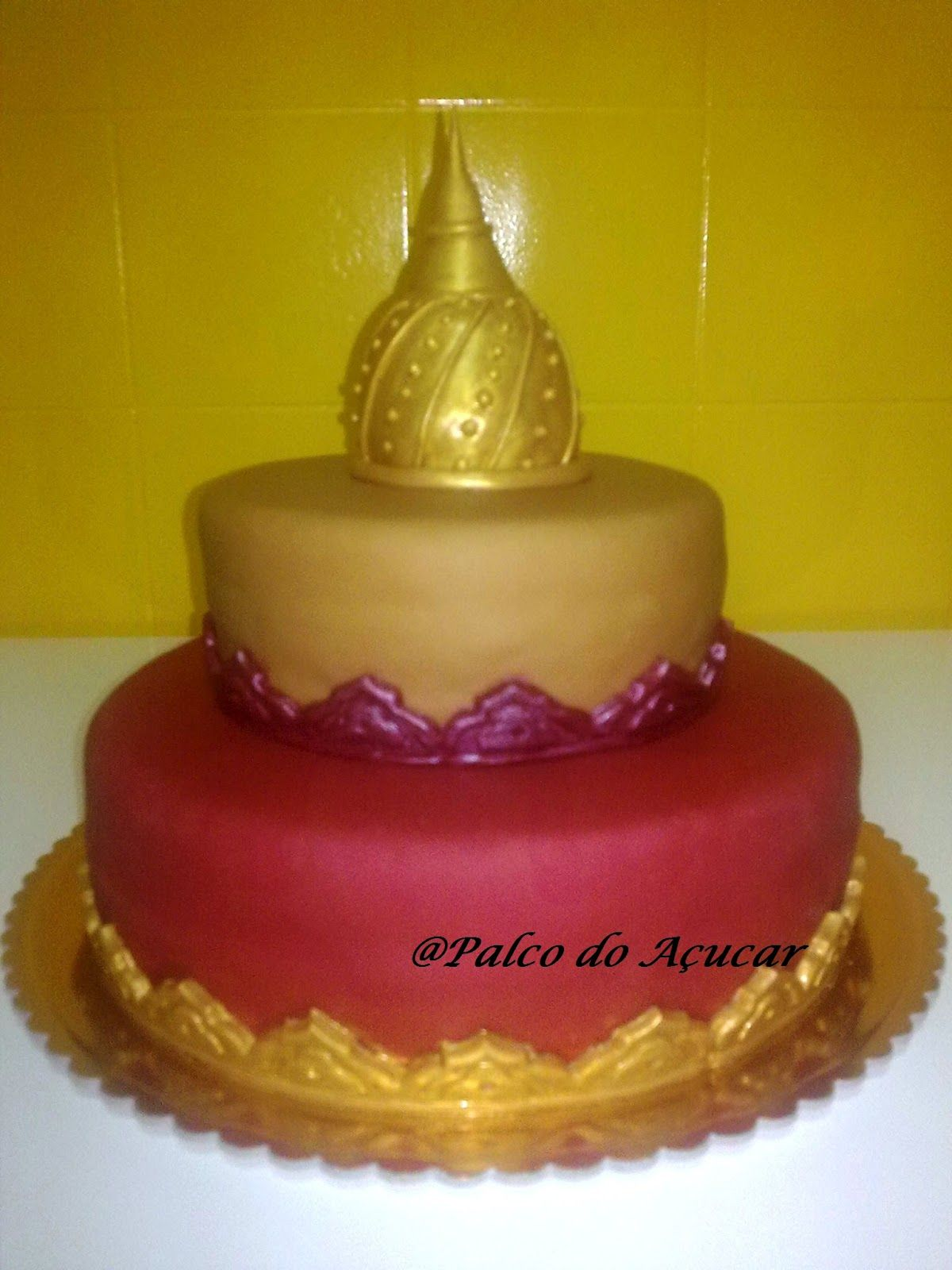 bolos decorados arabes - Pesquisa Google