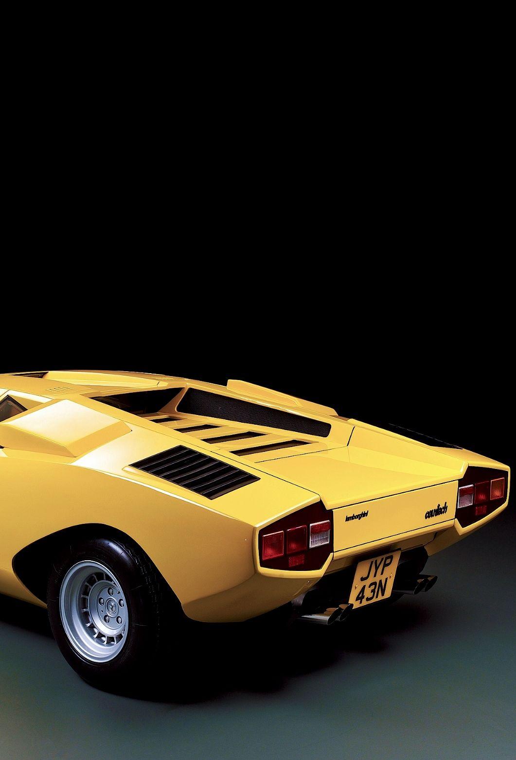 Industrial Design Lamborghini Countach Via Officineottiche