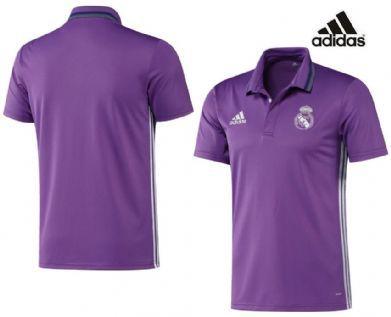 Polo morado Adidas Real Madrid 2017 Adulto  cece3f7958c