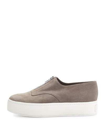 c7d0bde923c2 VINCE Warner Zip-Front Platform Sneaker.  vince  shoes