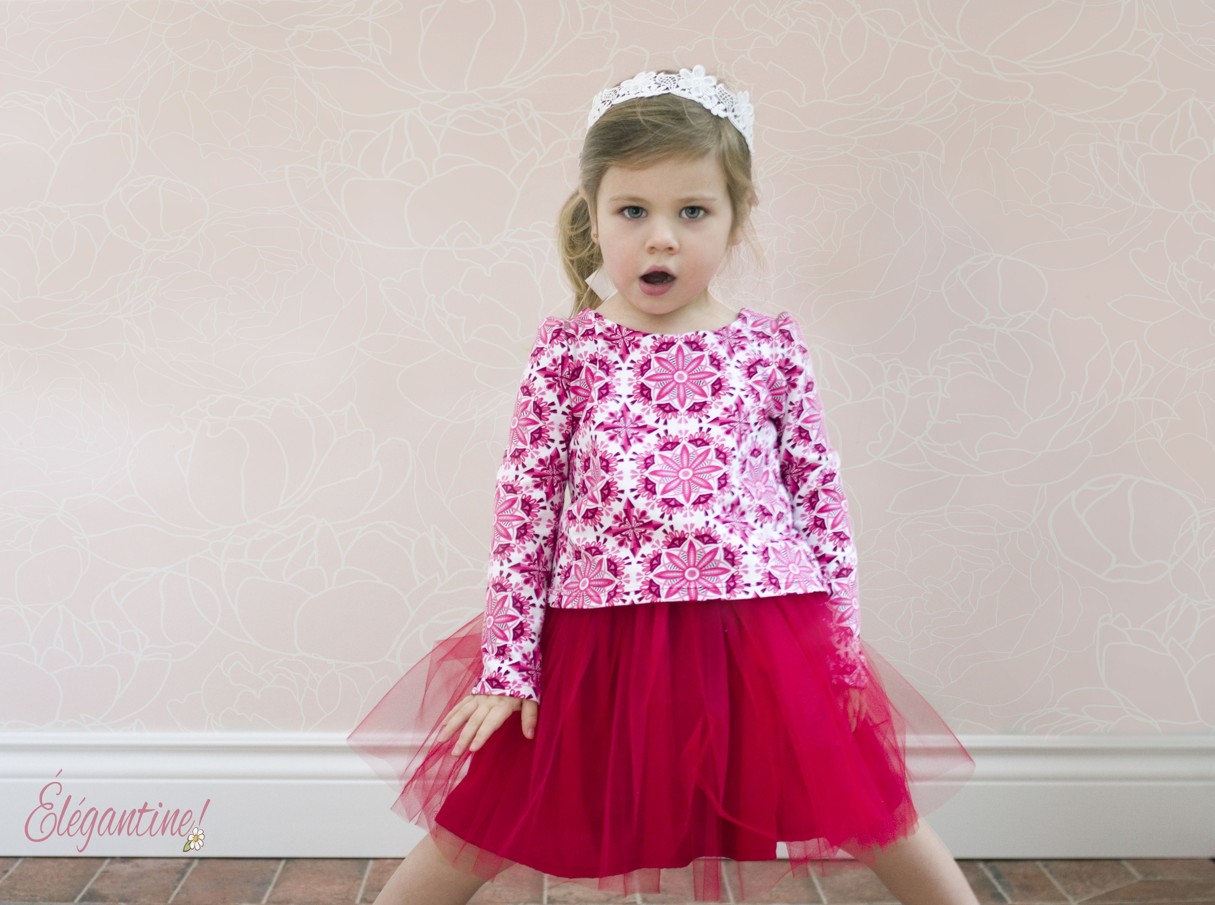 The confetti dot is a versatile knitwoven dress pattern that is