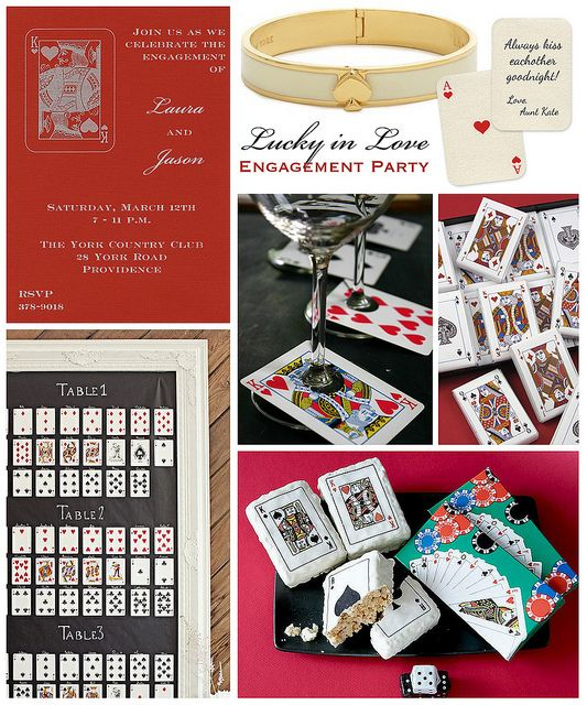 Casino engagement party themes ideas